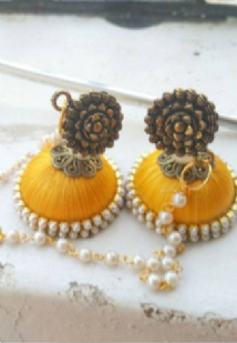 Stylish Thread Earrings